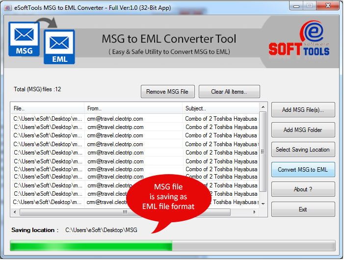 MSG to EML Converter Simply Convert MSG to EML|MSG Converter
